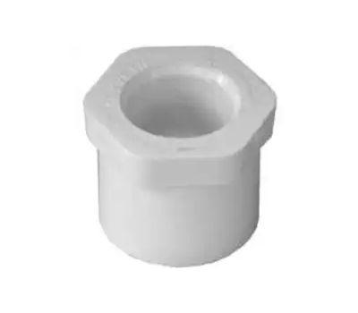 Lasco Fittings 30215 1 By 1/2 Inch PVC Reducing Bushings Spigot X Slip