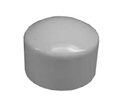 Lasco Fittings 30153 3 Inch White PVC Slip Cap