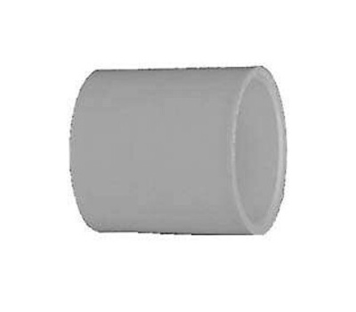 Lasco Fittings 30130 3 Inch White Pressure Coupling Slip X Slip