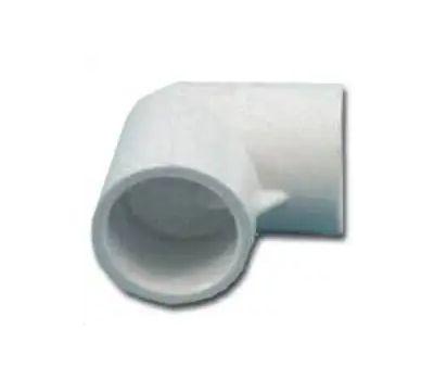 Lasco Fittings 30790 2-1/2 Inch PVC 90 Degree Elbow Slip X Slip