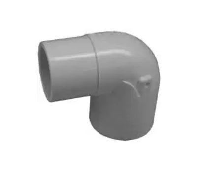 Lasco Fittings 32920 2 Inch PVC 90 Degree Street Elbow Slip X Spigot