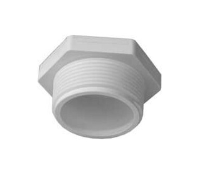 Lasco Fittings 31815 1-1/2 Inch PVC Male Threaded Plug