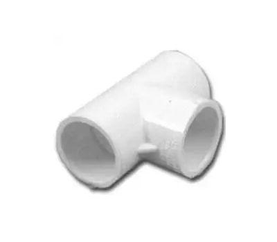 Lasco Fittings 31405 1/2 Inch PVC Tee Slip X Slip X Slip