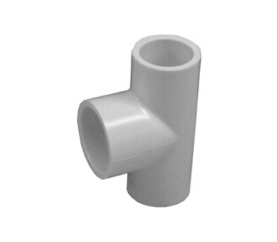 Lasco Fittings 31403 1/2 By 1/2 By 3/4 Inch PVC Reducing Tee Slip