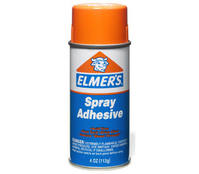Elmers E452 Elmers 4 Ounce Spr Adhesive