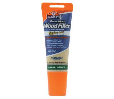 Elmers E887Q Wood Filler, Paste, Mild Acrylic, Beige, 3.25 Ounce Tube