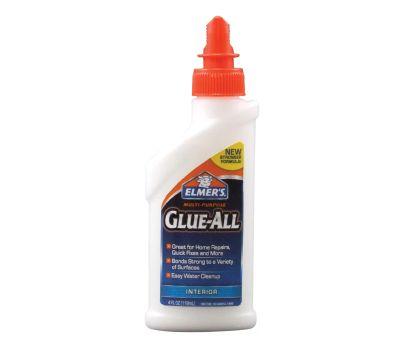 Elmers E3810 Glue All Glue, White, 4 Ounce Bottle