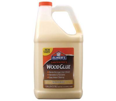 Elmers E7050 Carpenter's Wood Glue, Yellow, 1 Gal Bottle