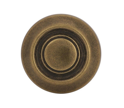 Amerock BP3423BB Allison Value Traditional Ring 1-1/4 Inch Zinc Cabinet Knob Burnished Brass