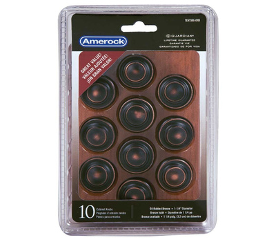 Amerock TEN1586ORB Allison Value Cabinet Knob 1-1/4 Inch Oil Rubbed Bronze 10 Pack