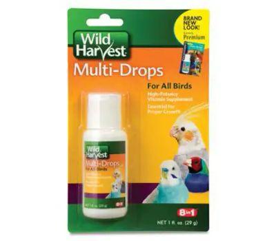 Spectrum D13123 Wild Harvest Oz Bird Multi Drops
