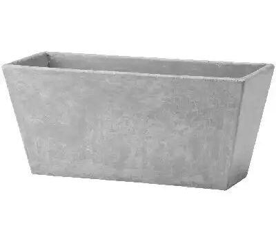 Novelty 36140 14.5 Inch Gry Ella Flwr Box