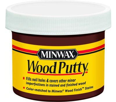 Minwax 13617 Walnut Minwax Wood Putty 3-3/4 Ounce
