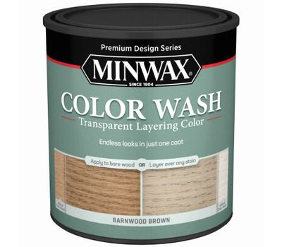 Minwax 401140000 Stain Wood Barnwood Brown