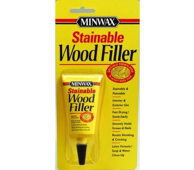 Minwax 42851 Stainable Wood Filler 1 Ounce Tube Latex Based
