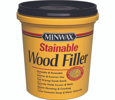 Minwax 42853 Stainable Wood Filler 16 Ounce Latex Based