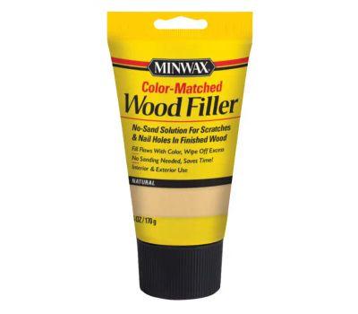 Minwax 448520000 Interior Exterior Wood Filler Natural 6 Ounce