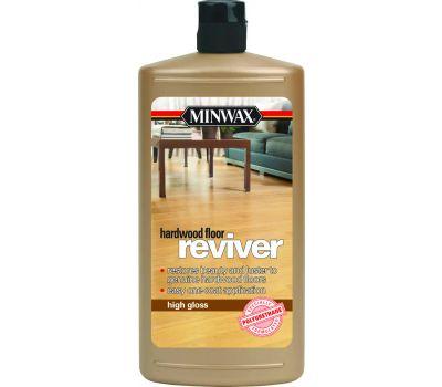 Minwax 60950 Reviver High Gloss Hardwood Floor Restorer Quart Water Based