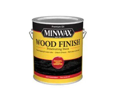 Minwax 711510000 Stain Wood True Black Finish
