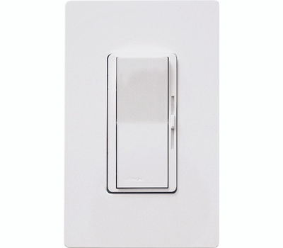 Lutron DVWCL-153PH-WH White 150 Watt 3 Way Single Pole Dimmer For CFL & LED Lighting