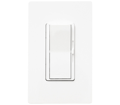Lutron DVW-600PH-WH Diva White Duo 600 With Dimmer