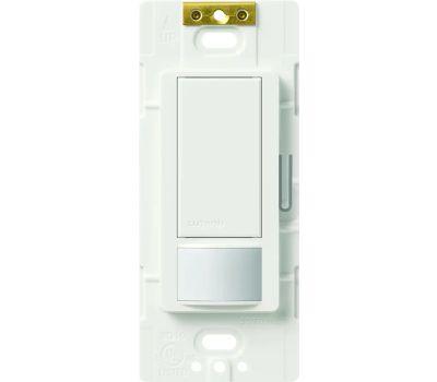 Lutron MS-OPS2H-WH Maestro Maestro Sensor Switch, 2 a, 120 V, 1-Pole, Motion Sensor, 180 Deg Sensing, 30 Ft Sensing