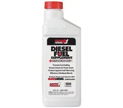 Power Service 1025 Diesel Fuel Supplement, 1 Qt