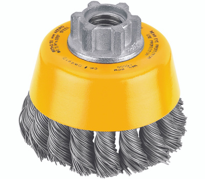 DeWalt DW4910 3 Inch Knotted Wire Cup Brush