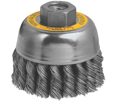 DeWalt DW4915 3 Inch Knotted Wire Cup Brush
