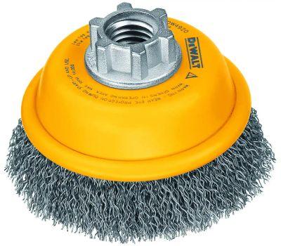 DeWalt DW4920 3 Inch Crimped Wire Cup Brush