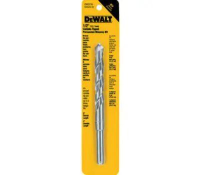 DeWalt DW5234 7/16 Inch By 6 Inch Premium Percussion Masonry Bit