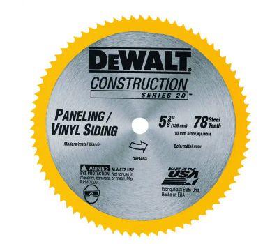 DeWalt DW9053 5-3/8 Inch 80 Tooth Circular Saw Blade