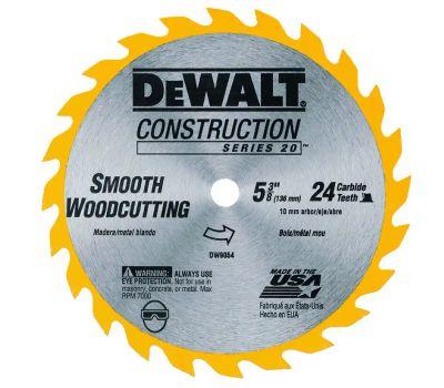 DeWalt DW9054 5-3/8 Inch Circular Saw Blade