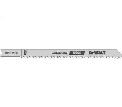 DeWalt DW3710-5 4 Inch Jig Saw Blade Pack Of 5