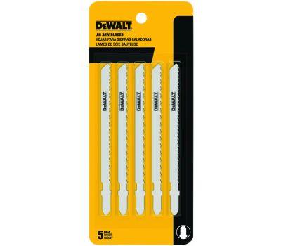 DeWalt DW3753-5 4 Inch Jig Saw Blades Pack Of 5