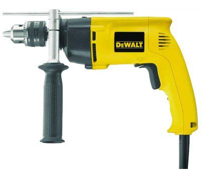 DeWalt DW511 Hammer Drill, 120 V, 8.5 a, 650 W, 1-1/4 in Wood, 1/2 in Steel Drilling, 1/2 in Chuck, Keyed Chuck