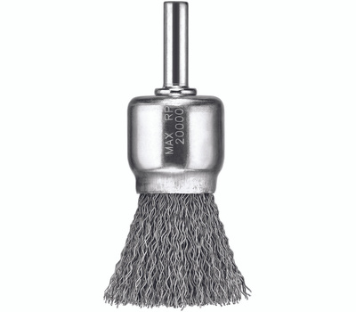 DeWalt DW4901 1 Inch Brush Carbon Steel 1/4 Inch Stem