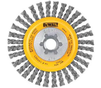 DeWalt DW4925 4x5/8-11.020 Wire Wheel