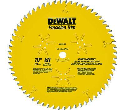 DeWalt DW3215PT 10 Inch Precision Trim Blade 60 Tooth