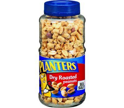 Kraft 422470 Planters Peanut, Dry Roasted Flavor, 16 Ounce Jar