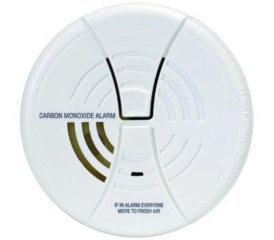 First Alert CO250B Carbon Monoxide Alarm, 85 Db, Alarm: Audible/Visual, Electrochemical Sensor, White