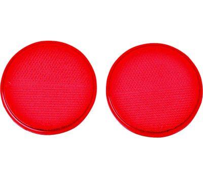 Hy Ko CDRF-4R Hy-Ko 3-1/4 Inch Self Adhesive Press On Red Reflectors (Pack Of 2)
