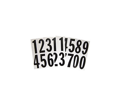 Hy Ko MM-23N Hy-Ko Self-Adhesive Reflective Number Set 3 Inch