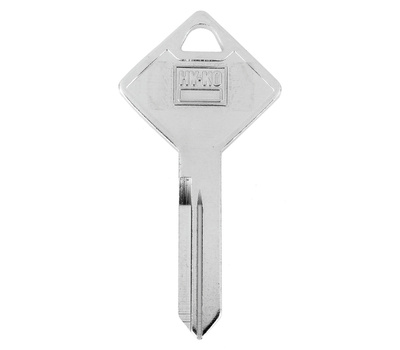 Hy Ko 11010ARE1 Hy-Ko Key Blank, Brass, Nickel-Plated, for: Truck Cap Are1