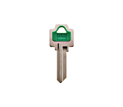 Hy Ko 13005WR5 Hy-Ko Key Blank, Brass/Plastic, Nickel, for: Weiser Cabinet, House Locks and Padlocks