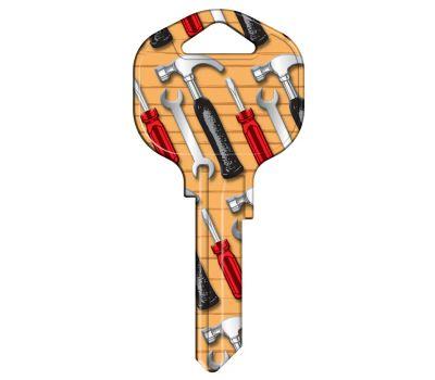 Hy Ko 15005KW1-TOOL Kwikset KW1 Keyblank Hand Tools