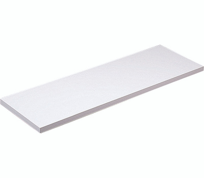 Knape & Vogt 1980 WH 12X48 All Purpose Decorative Shelf Board 5/8 By 12 By 48 Inch White
