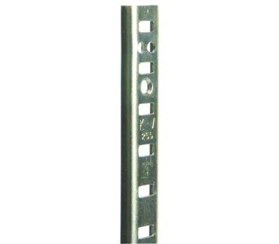 Knape & Vogt PK255ZC48 Pilaster Standard Mortise Mount 48 Inch Zinc Plated