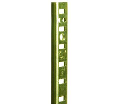 Knape & Vogt PK255BR48 Pilaster Standard Mortise Mount 48 Inch Brass
