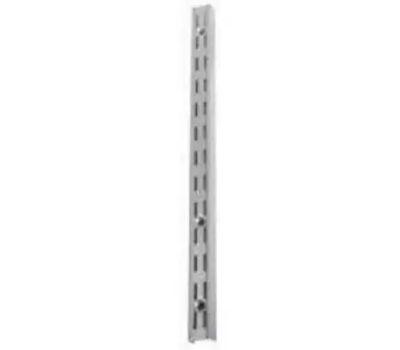 Knape & Vogt 82WH39 Designer Series Heavy Duty Double Slot Shelf Standard 39 Inch White